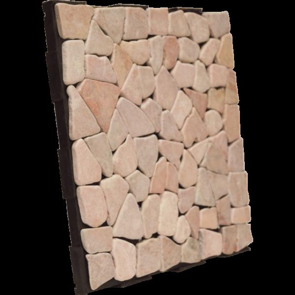 Garden Tiles Red Mosaic