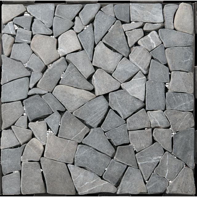 30 x 30 clickable diy garden deck tile grey mosaic - Garden Tiles