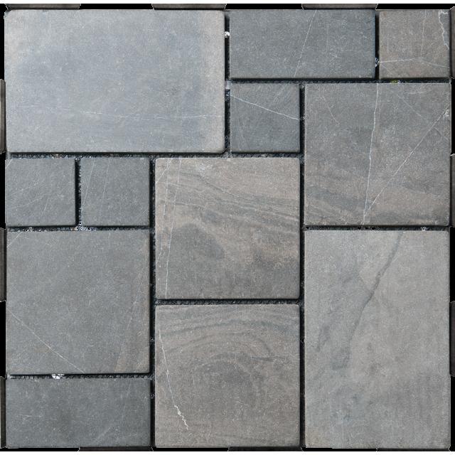 garden tiles patchwork grey click tiles diy - Garden Tiles