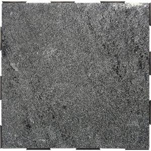 garden tiles black lava stone