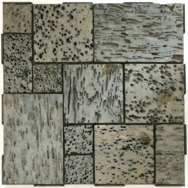 Lava Stone Patchwork 30x30 Garden Tile