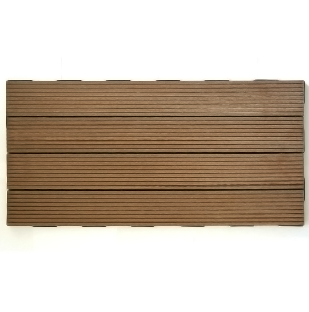 Rustic Brown WPC 60x30 Garden Tile