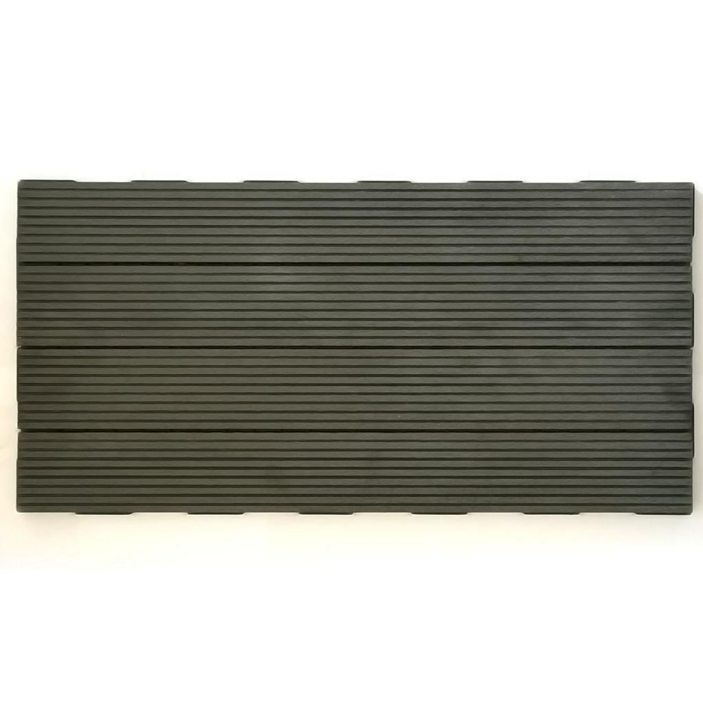 Rustic Grey WPC 60x30 Garden Tile